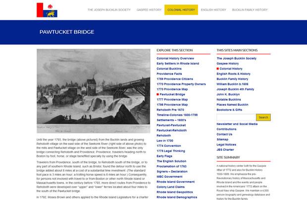 The Joseph Bucklin Society