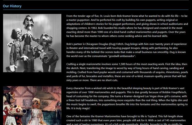 Bob Kramer's Marionnettes