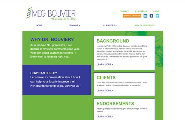 Meg Bouvier Medical Writing
